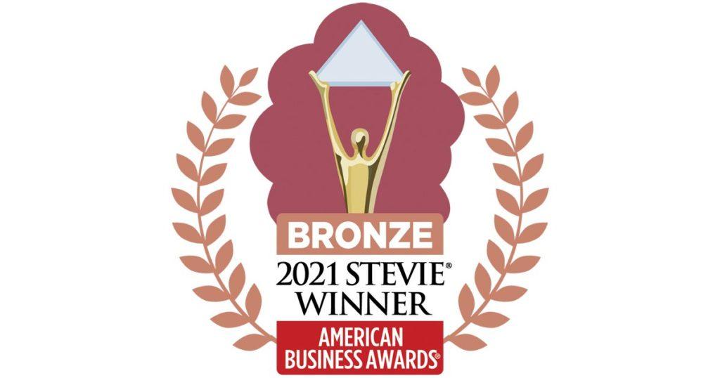 2021 American Business Awards Bronze Winner